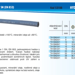 hydraulicke hadice 2SN HYDRATEC VULCAN 1