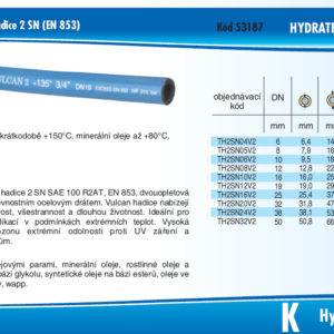 hydraulicke hadice 2SN HYDRATEC VULCAN 2