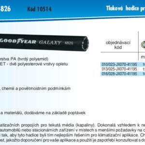 hydraulicke hadice CHEMITC GALAXY 4826