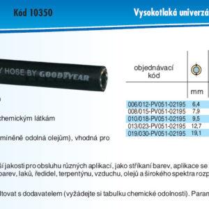 hydraulicke hadice CHEMITC NR SPRAY