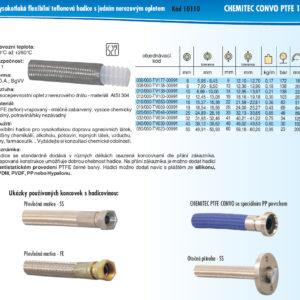 hydraulicke hadice CHEMITEC CONVO PTFE 1X