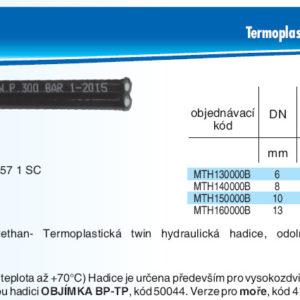 hydraulicke hadice MTH1B