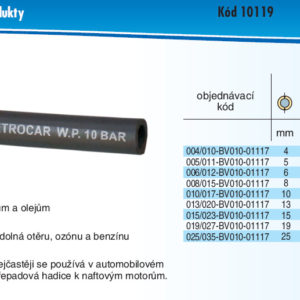 hydraulicke hadice PETROTEC 10