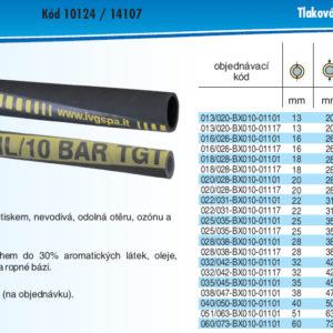 hydraulicke hadice PETROTEC OIL 10