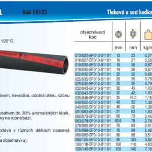 hydraulicke hadice PETROTEC OIL 10 SPL