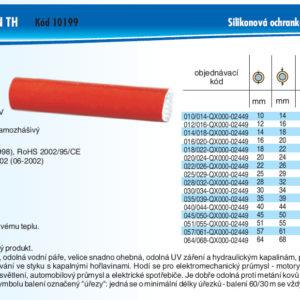hydraulicke hadice SPIRALINA JACKET SILIKON TH